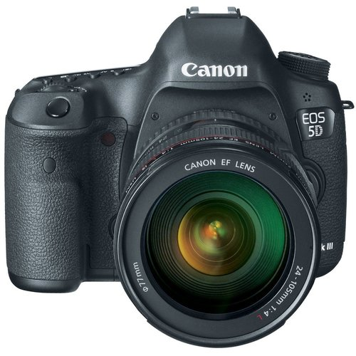 EOS-5D Mark III 22.3 MP Digital Camera W/ Canon 24-105mm Lens