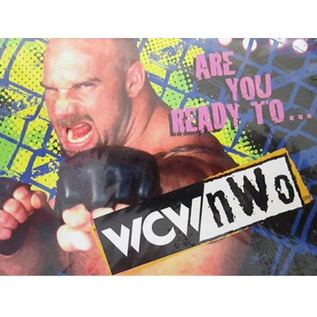 WCW / nWo Wrestling Vintage 1999 Invitations w/ Envelopes (8ct) - Wcw 1999 Halloween Havoc