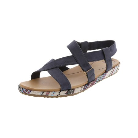 Dr. Scholl'S Women's Preview Oxide Ankle-High Fabric Sandal - 8M