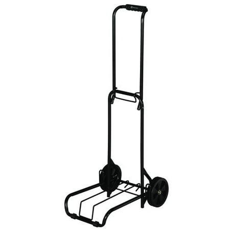 8689d7856421 Folding Luggage Cart, Black