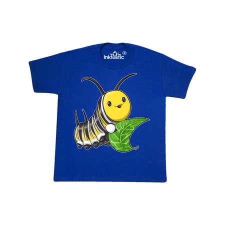 Monarch butterfly caterpillar- cute baby insect Youth T-Shirt