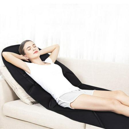Knifun  Car Massager Cushion,Massager Cushion,Heated Electric Car Back Neck Lumbar Full Body Massage Massager Seat Cushion Pad US (Seat Cushion Back Massage)
