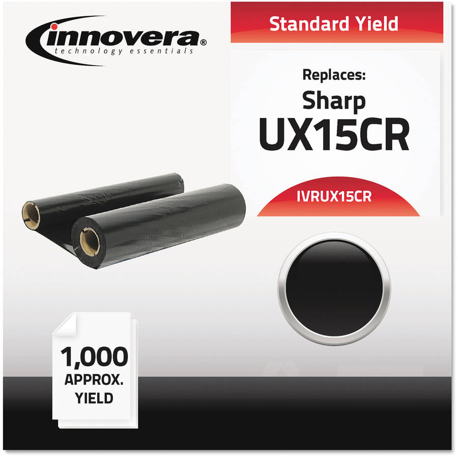 Innovera UX15CR Compatible, Remanufactured, UX15CR Thermal Transfer, Black