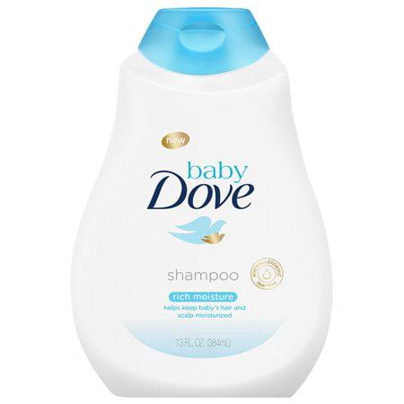 - (2 Pack) Baby Dove Rich Moisture Baby Shampoo, 13 oz