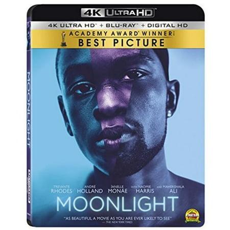 - Moonlight (4K Ultra HD + Blu-ray + Digital HD)