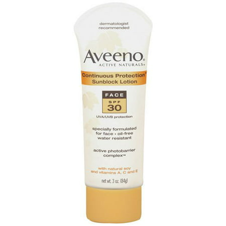 Johnson Amp Johnson Aveeno Active Naturals Sunblock Lotion
