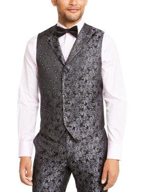 Tallia Mens Floral Business Suit Vest