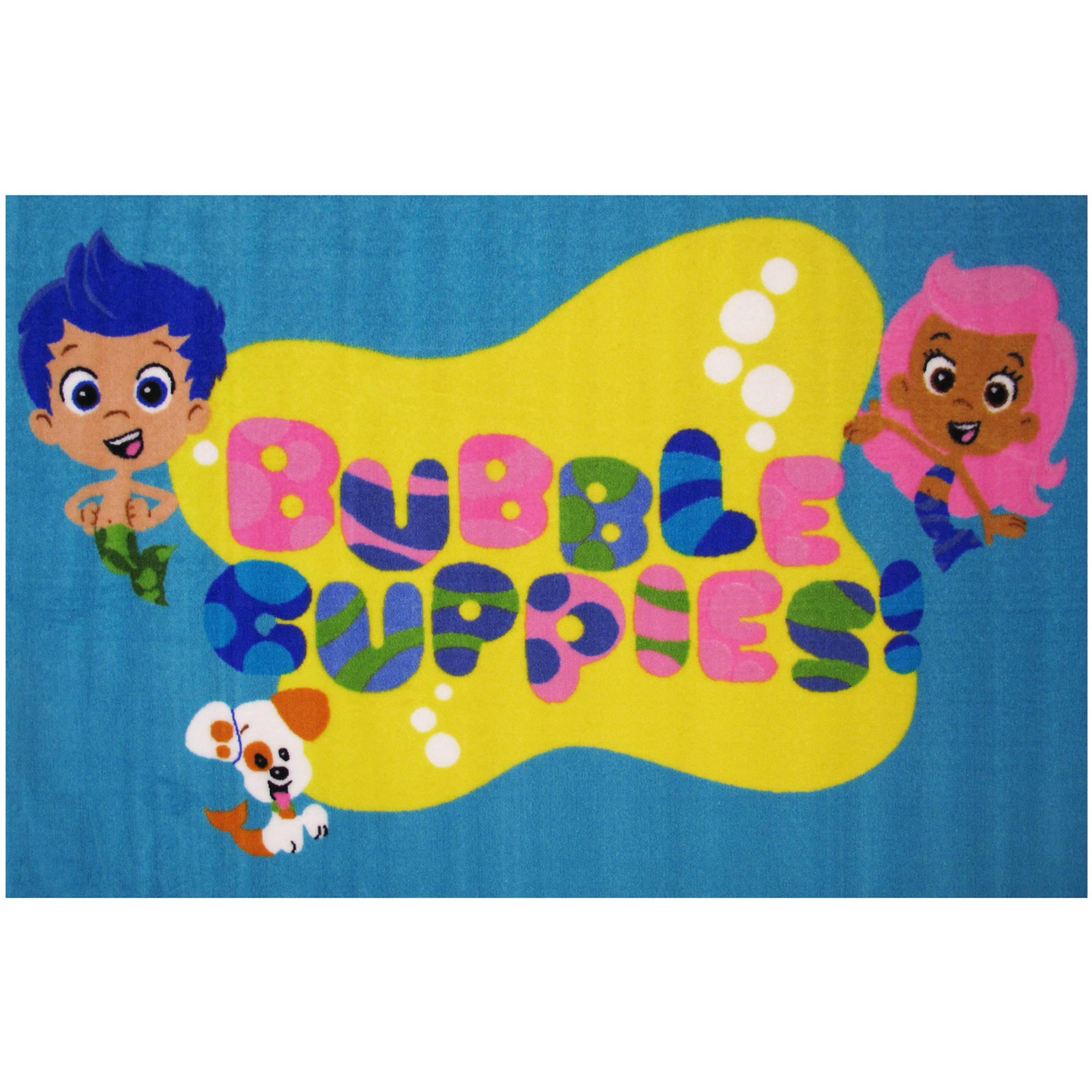 fun rugs nickelodeon bubble guppies kids rugs 39