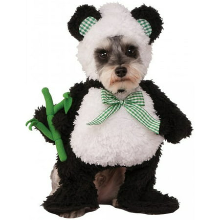 Walking Panda Black White Bear Pet Dog Cat Halloween - Devil Dog Halloween Costume