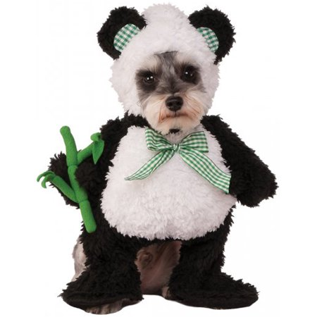 Walking Panda Black White Bear Pet Dog Cat Halloween Costume](Dog Carrying Present Halloween Costume)