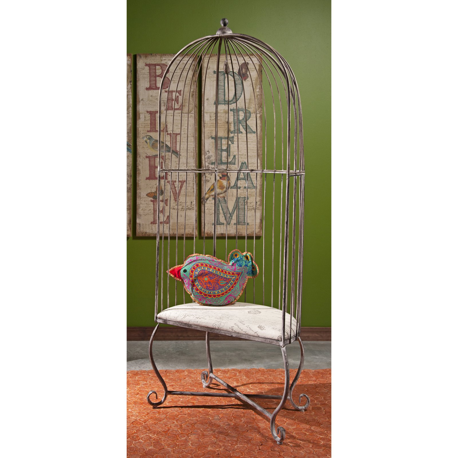 Very IMAX Dorchester Birdcage Accent Chair - Walmart.com IV44