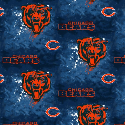 NFL Chicago Bears Cotton Fabric