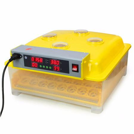 XtremepowerUS 48CT Egg Incubator Automatic Temperature Control CE