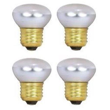 HC Lighting - R14 Reflector 40-Watt 120V/130V Dimmable E26 Standard Screw Base 40W Frosted Lava lamp and Reflector Bulb (4/PK)