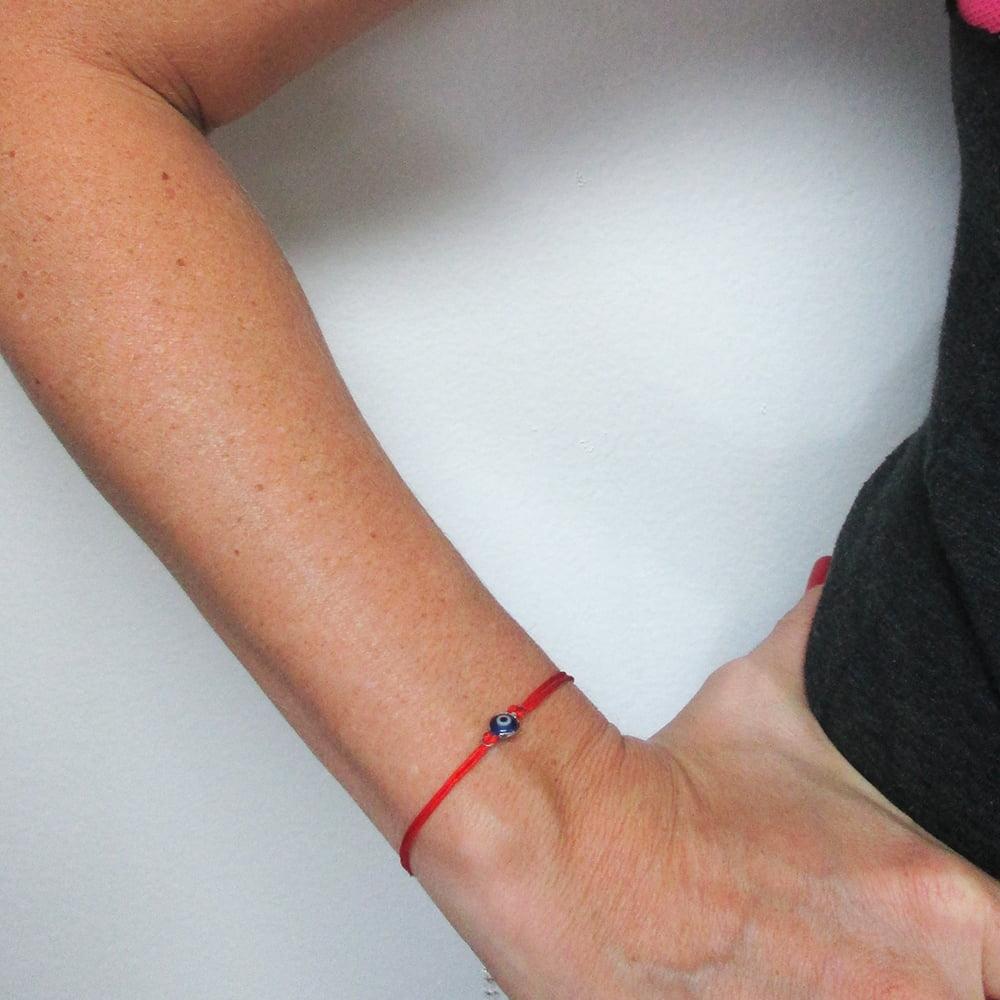 Evil Eye Red String Kabbalah Bracelet