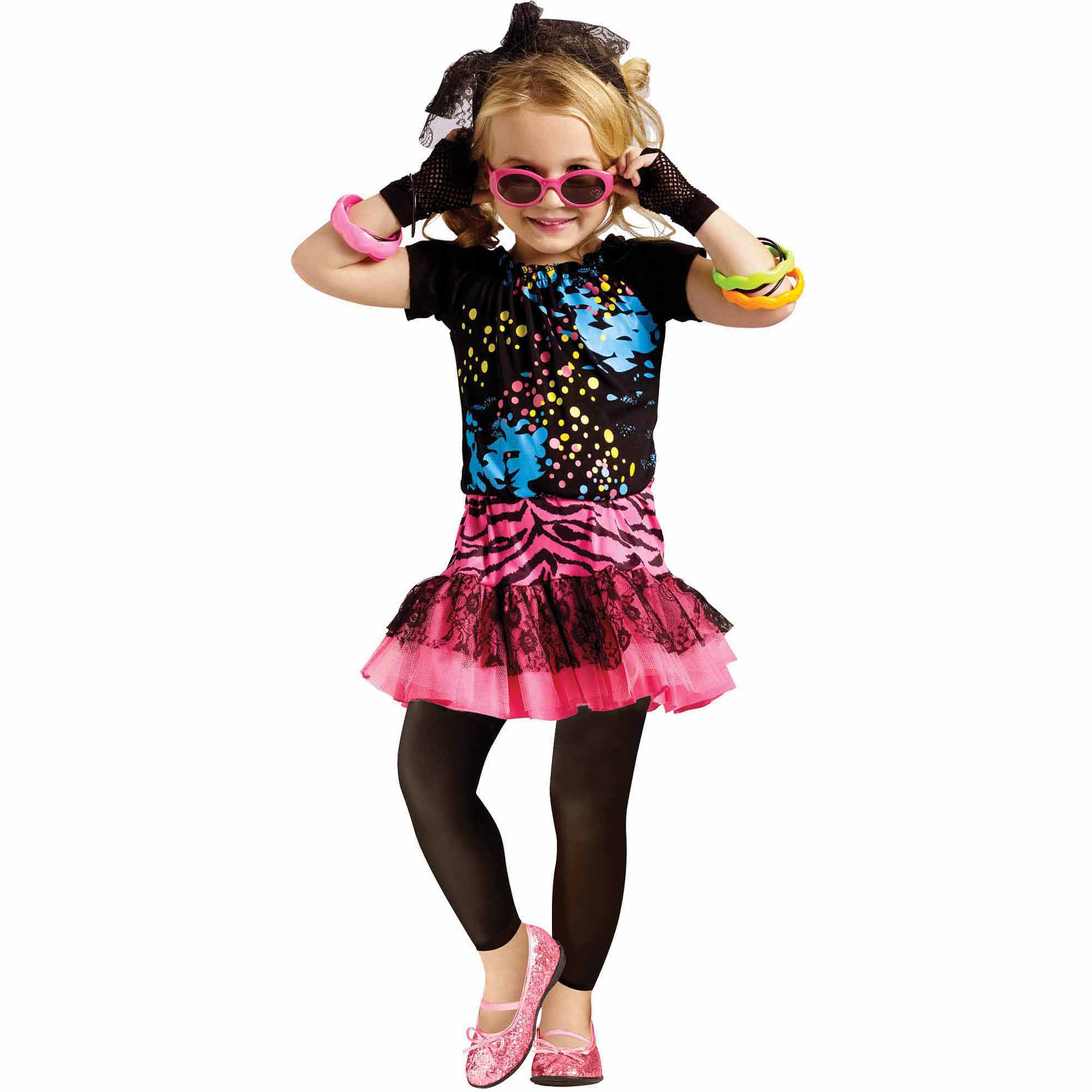 80's Pop Party Child Halloween Costume