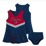 NFL Houston Texans Toddler Cheerleader Set