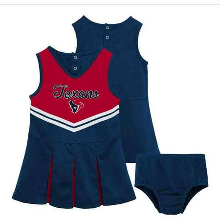 NFL NFL Houston Texans Toddler Cheerleader Set