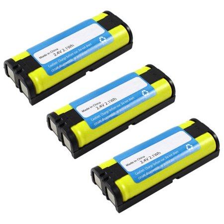 Replacement For Panasonic HHR-P105 Cordless Phone Battery (830mAh, 2.4v, NiMH) - 3