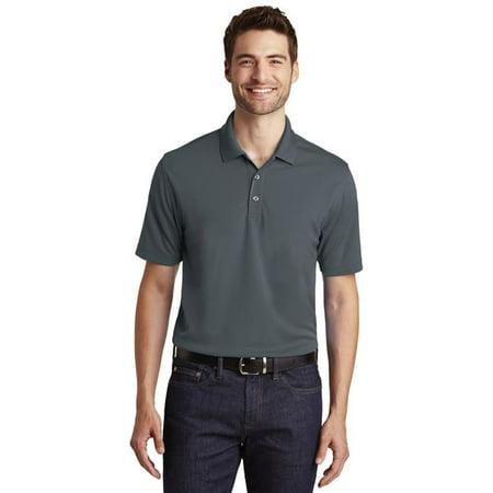 Port Authority 1237052 Dry Zone UV Micro-Mesh Polo Shirt, Graphite - Small