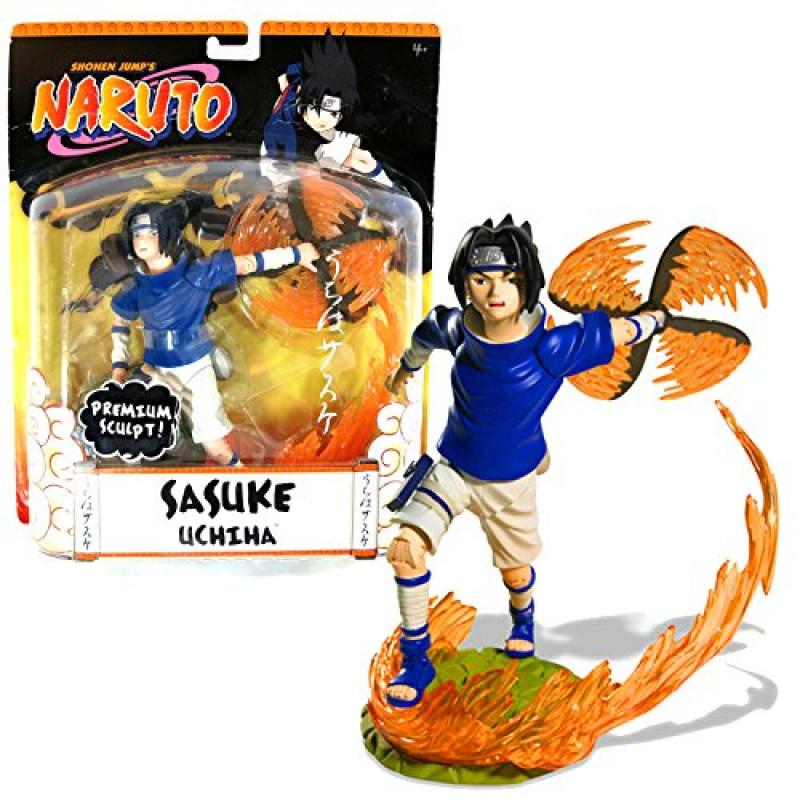 Mattel Year 2006 Shonen Jump's Naruto Series Premium Sculpt 7-1 2 Inch Tall Action Figure... by