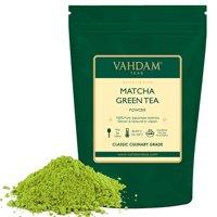 VAHDAM, Pure Matcha Tea, Superfood Green Tea, 3,53oz