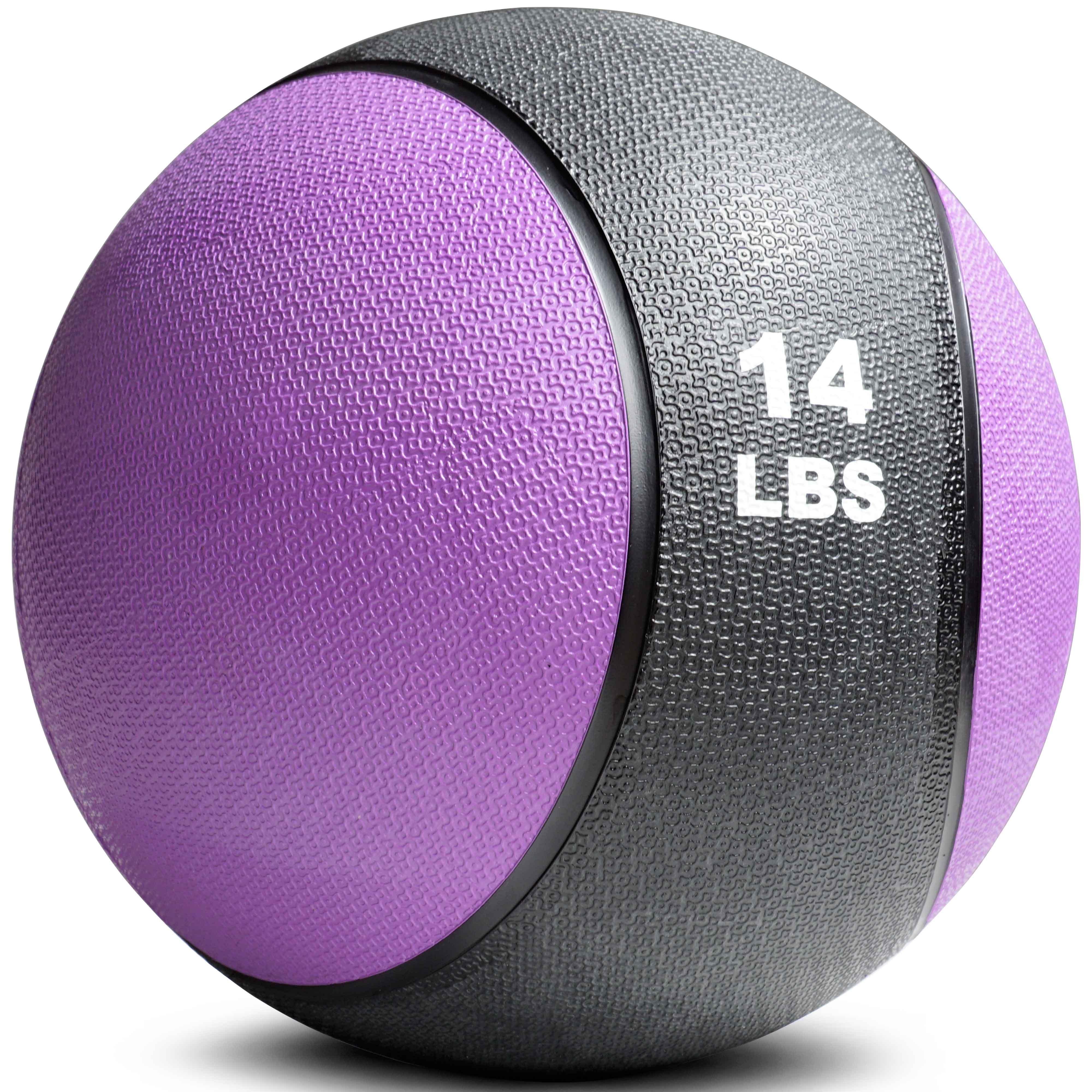 Titan Fitness Weighted Medicine Ball, 14 lb