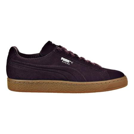 07a5fffff11 PUMA - Puma Suede Classic Debossed Q4 Jr Big Kid's Shoes Winetasting/Lilac  Snow 364248-03 - Walmart.com