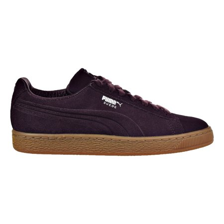24a57ed32516 PUMA - Puma Suede Classic Debossed Q4 Jr Big Kid s Shoes Winetasting Lilac  Snow 364248-03 - Walmart.com
