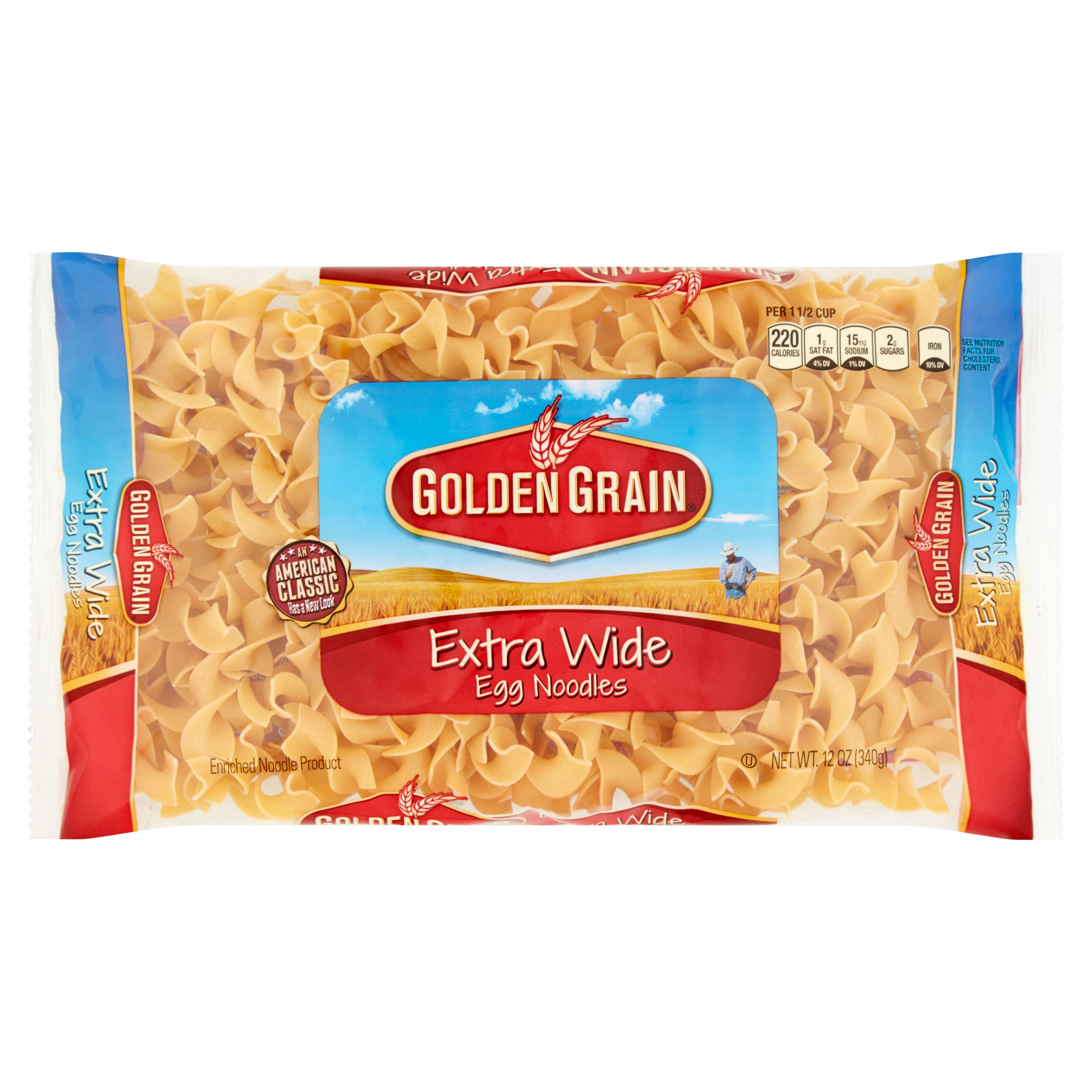 Golden Grain Extra Wide Egg Noodles 12 oz