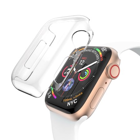Invisible Crystal Case for Apple Watch 40mm Series 4 - Clear ()