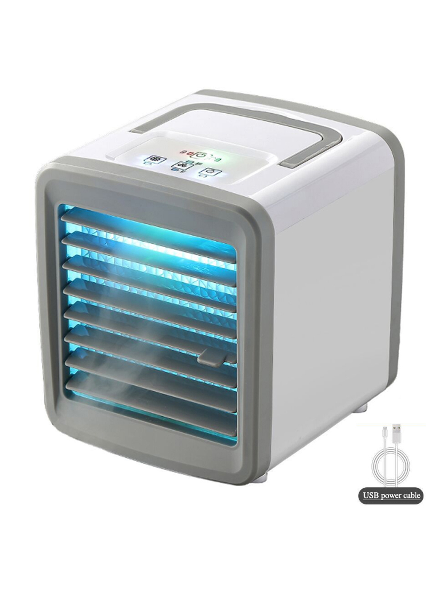 and Study Room Office Misting design Quick /& Easy Way to Cool personal Space babys room Suitable for Bedside Portable Cooler Portable Air Conditioner As Seen On TV tent