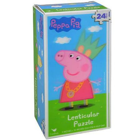 Peppa Pig Lenticular Puzzle - 24 - Jigsaw Pig