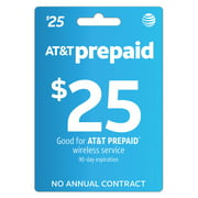 AT&T PREPAID $25 Direct Top Up