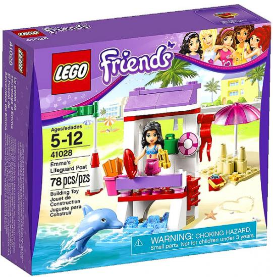 LEGO Friends Emma's Lifeguard Post Building Set