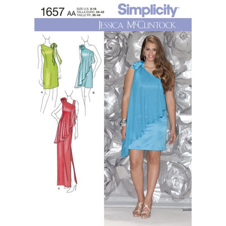 Simplicity Misses And Plus Size Special Occasion Dress By Jessica