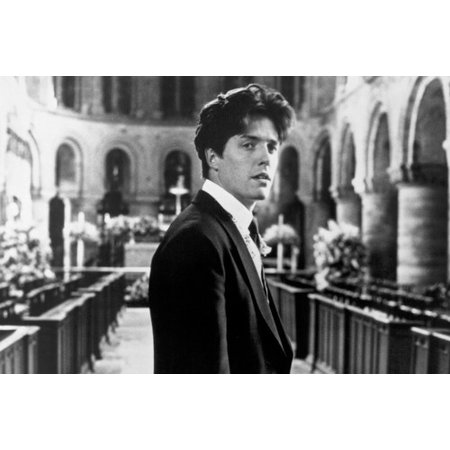 Hugh Grant in Four Weddings and a Funeral in Church 24x36