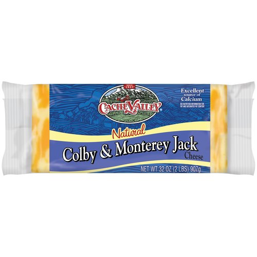 Cache Valley Natural Colby & Monterey Jack Cheese, 32 oz