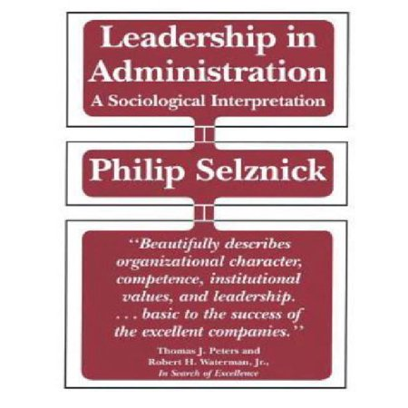 ISBN 9780520049949 product image for Leadership in Administration: A Sociological Interpretation   upcitemdb.com