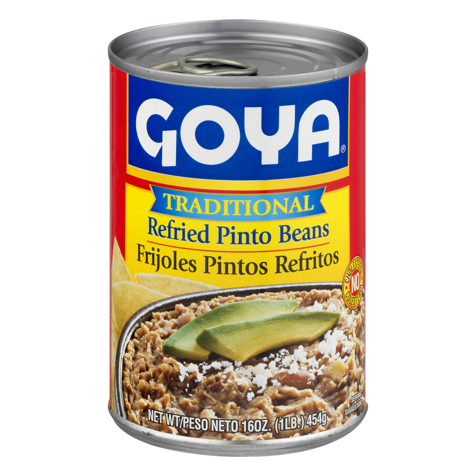 Goya Refried Pinto Beans Traditional, 16 Oz