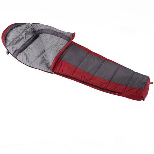 Wenzel Windy Pass 0 Degrees Fahrenheit Mummy Sleeping Bag by Exxel Outdoors