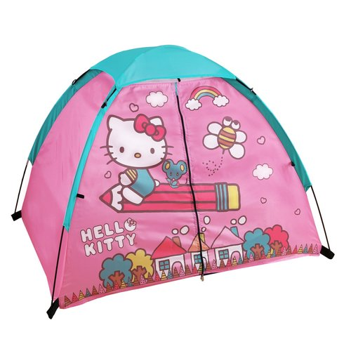 "Hello Kitty 4' x 3' x 36"" 2-Pole Dome Tent with Floor by"