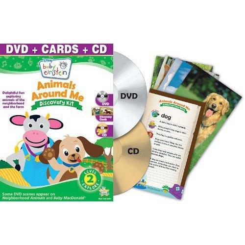 Baby Einstein: Animals Around Me (Discovery Kit/ DVD/CD Combo)