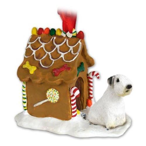 GBHD125 Sealyham Terrier Ginger Bread House Ornament by