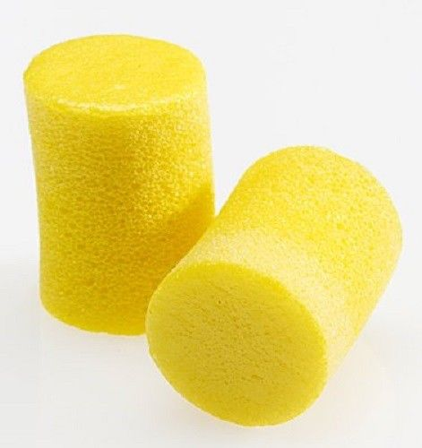 100 pairs 3M Ear Plugs E-A-R Classic Noise Reduction 29dB Yellow Foam Disposable
