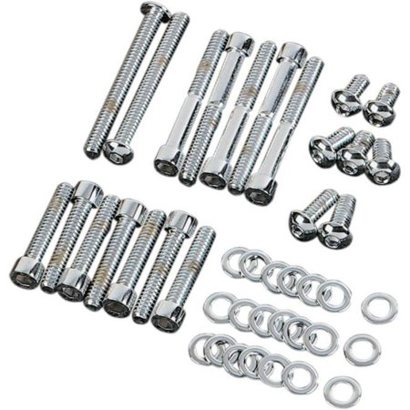 Gardner-Westcott P-80-87 Motor Chrome Steel Socket-Head Bolt Kit Chrome Motor Bolt