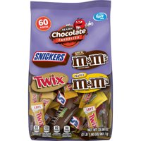 MARS Chocolate Favorites Fun Size Candy, party size, 33.9 oz., Official Sponsor of Super Bowl LIV