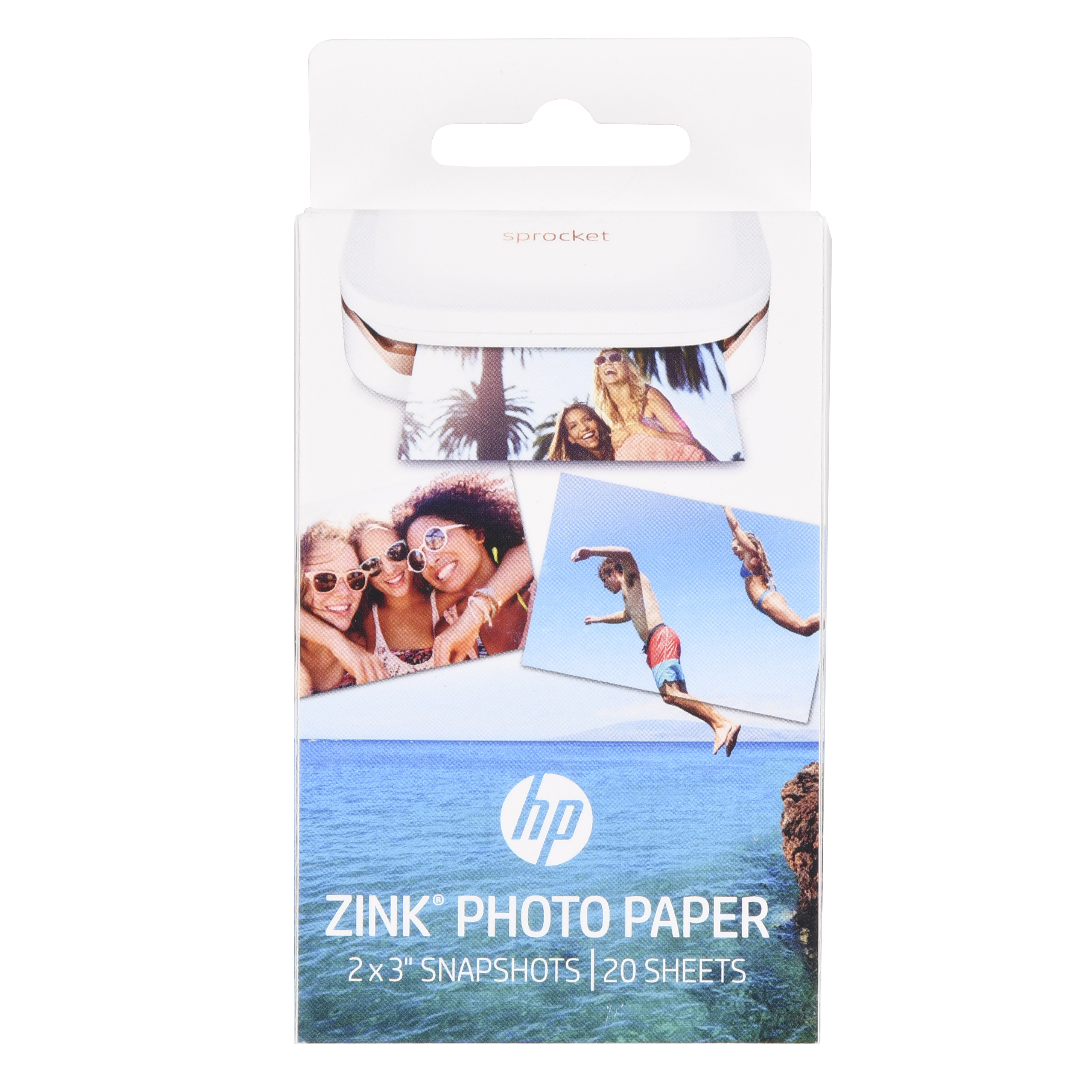 graphic relating to Printable Sticker Paper Walmart named HP ZINK Sticky-Sponsored Picture Paper (W4Z13A), 20 Sheets