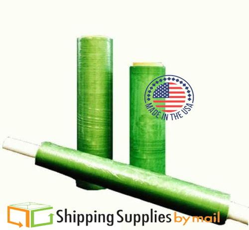 "SSBM - Green Tinted Pallet Stretch Wrap Hi-Perf Film 20"" x 1000' x 60 Ga 128 Pack"