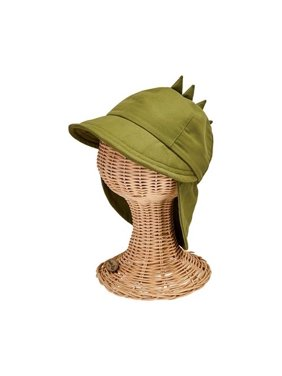Infant Boys' San Diego Hat Company Dino Trapper Hat CTK4214 Olive M (1-2Y)